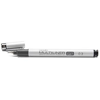 Copic Multiliner Sp Black Ink Marker 0.3 Tipp Mlsp 03