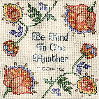 Be Kind Counted Cross Stitch Kit-10