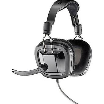 Gaming headset 3.5 mm jack Corded, Stereo Plantronics GameCom 388 Over-the-ear Black