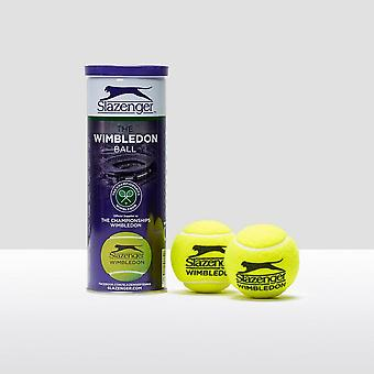 Slazenger Wimbledon 3 Tennis Ball Can
