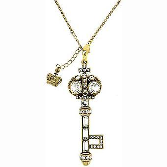Butler & Wilson Vintage Crystal Key Shape Keyring/Pendant