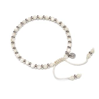 Lola Rose Compton Bracelet White Mop Mother of Pearl