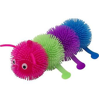 Smiffys Puffer Ball Multi Colour Caterpillar 15Cm With Light Up 12 (Costumes)