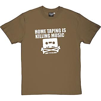 Home Taping Is Killing Music Men's T-Shirt