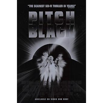 Pitch Черный фильм плакат (11 x 17)
