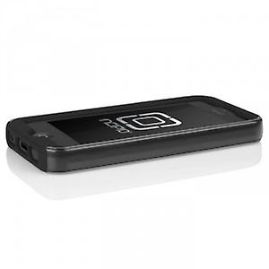 Incipio IPH-875 Dual Pro Shine Case Cover for iPhone 5 / 5S - Silver / Black