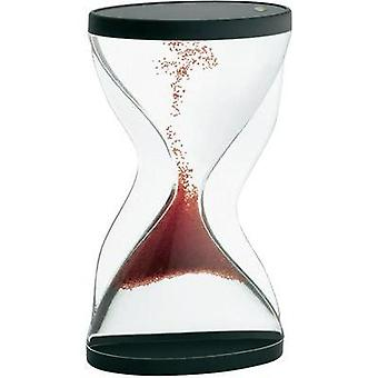 Hourglass TFA Acrylic glass (clear), Red, Black