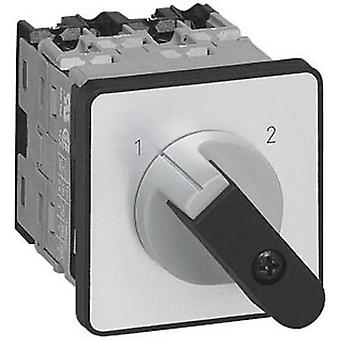 Changeover switch 16 A 1 x 90 ° Grey, Black BACO NC51DQ1 1 pc(s)
