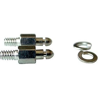 Mounting bolt Provertha 103M3T1002 Silver 2 pc(s)