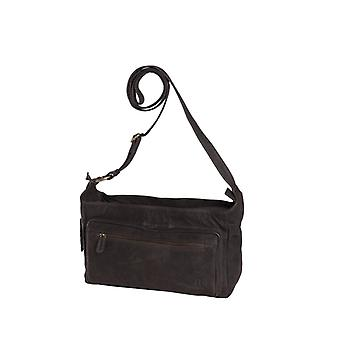 Dr Amsterdam shoulder bag Olive Licorice