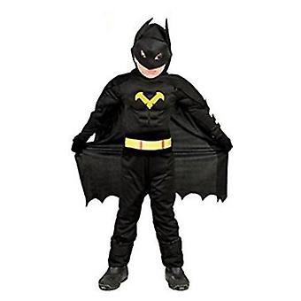 Import Hero Costume Black Kids 5-6 years (Costumes)