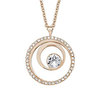 s.Oliver jewel ladies chain necklace stainless steel Rosé gold 2015047