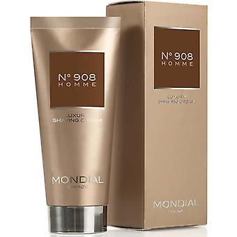 Mondial N°908 Homme Luxury Shaving Cream Soft In Tube 100ml
