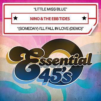 Nino & Ebbe Flut - Little Miss Blue / (eines Tages) werde ich verliebe mich in Liebe USA Import