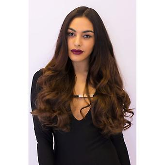 Premium Three Piece Clip In Hair Extensions Curly Thick 200g