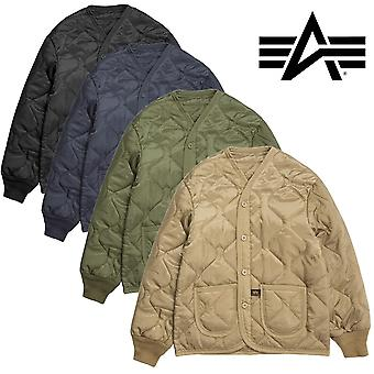 Alpha Industries jacket as a liner