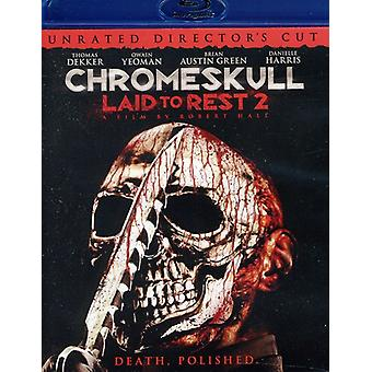 Chromeskull: Gelegt, Rest 2 [BLU-RAY] USA import