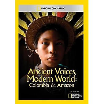 Ancient Voices Modern World: Colombia & Amazon [DVD] USA import