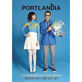 Portlandia: Sæson 5 [DVD] USA import