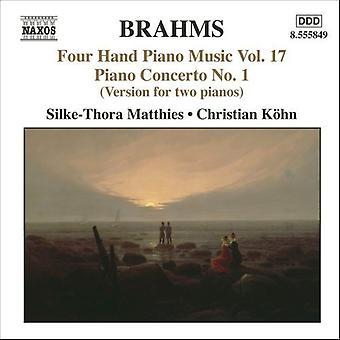 J. Brahms - Brahms: Four Hand Piano Music, Vol. 17 [CD] USA import