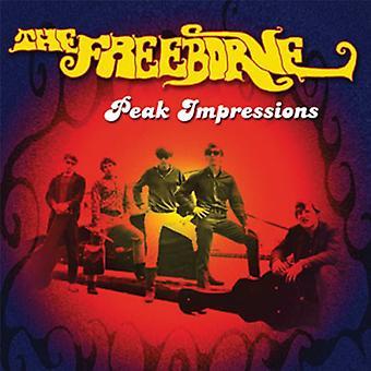 Freeborne - Peak visninger [CD] USA importerer