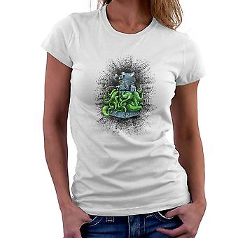 Doctor Who Dalek Tentacles Women's T-Shirt