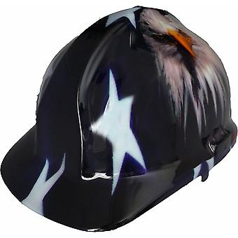 American Eagle Themed Hard Hat