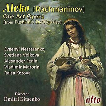 Nesterenko, Evgeni / Fedin, Alesander / Ussr TV - Rachmaninov: Aleko (Complete Opera) [CD] USA importeren