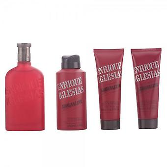 Enrique Iglesias Adrenaline Case (Colonia 100 V + Aftershave Balm +) (Perfumes , Packs)