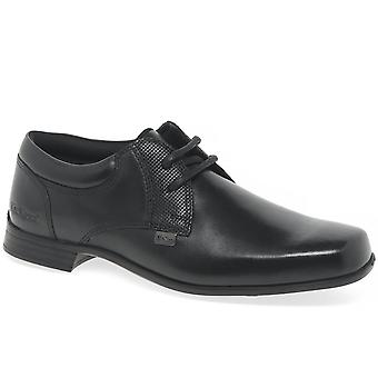 Kickers Ferock Lace Boys Senior School Shoes