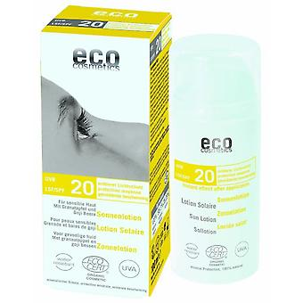 Eco Cosmetics Sunscreen Lotion Fps20, 100Ml