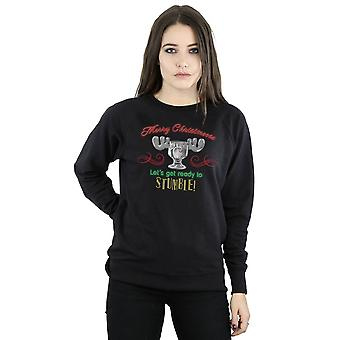 National Lampoon's Christmas Vacation Women's Moose Head Sweatshirt