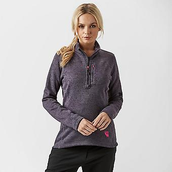 Purple Sprayway Women's Kiso Half-Zip Fleece