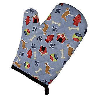 Central Asian Shepherd Dog Dog House Collection Oven Mitt