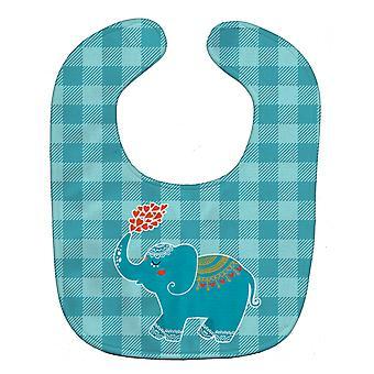 Carolines Treasures  BB6744BIB Elephant Love Baby Bib