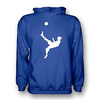 Zlatan Ibrahimovic Bicycle Kick Hoody (blau)