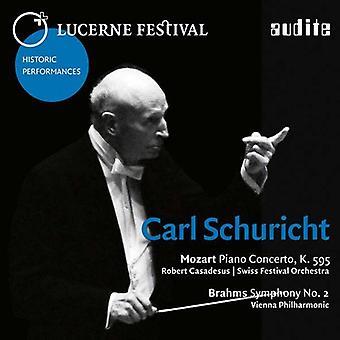 Carl Schuricht - Brahms / Mozart: Lucerna Festival histórico actuaciones Vol X1 [CD] USA importar