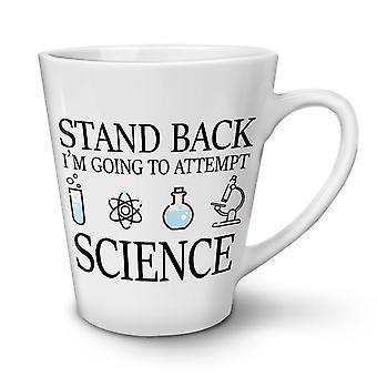 Wissenschaft neue weißer Tee Kaffee Keramik Latte Becher 17 oz   Wellcoda