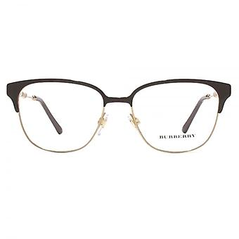 Burberry BE1313Q Glasses In Brown Light Gold