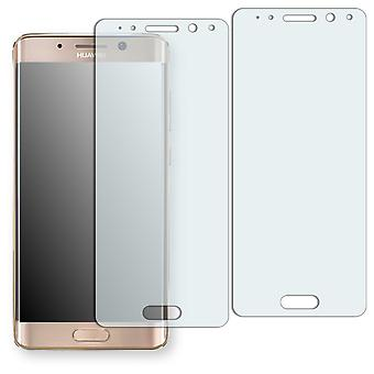 Huawei Mate 9 Pro display protector - Golebo crystal-clear protector (deliberately smaller than the display, as this is arched)