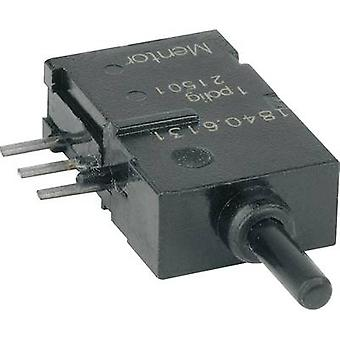Pushbutton 60 V DC/AC 0.5 A 1 x On/(On) Mentor 184