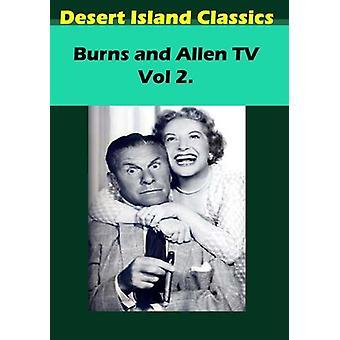 Importación de USA de quemaduras y Allen TV 2 [DVD]
