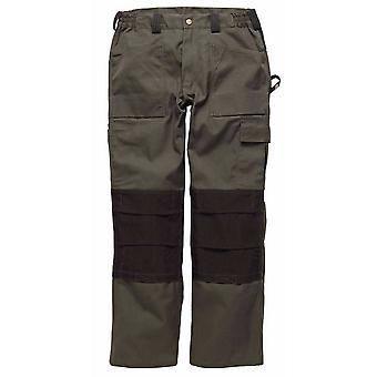 Dickies Mens GDT290 Workwear Trousers Olive Green WD4930O