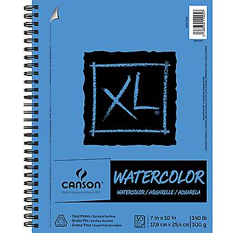 Canson XL Watercolor Pad 7