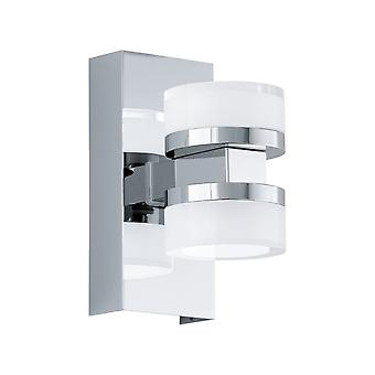 Eglo LED Wall Light/2 Chrom/Sat Klar Romendo 1