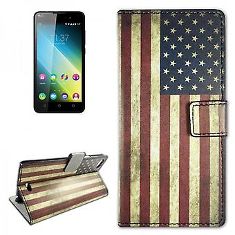 Pocket wallet Premium design 10 for Wiko Lenny 2 (not Lenny 1)