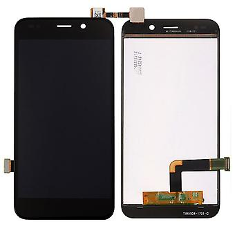 Display full LCD unit touch spare parts for WIKO Wim Lite repair black new