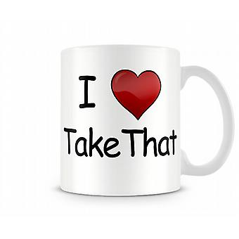 Io Amore Take That Stampato Mug