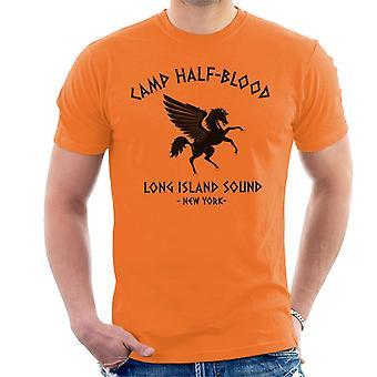 Percy Jackson Camp Half Blood menn t-skjorte
