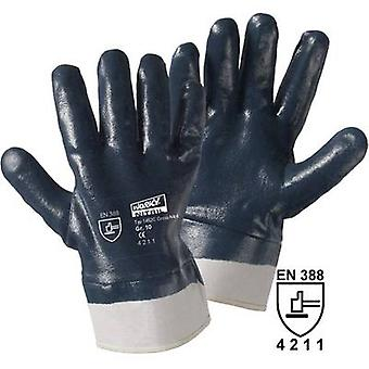 Cotton, Nitrile butadiene rubber Protective glove EN 388 CAT II L+D worky Cross Nitril 1452C 1 pc(s)